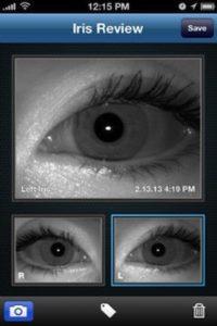 Reconnaissance d'iris