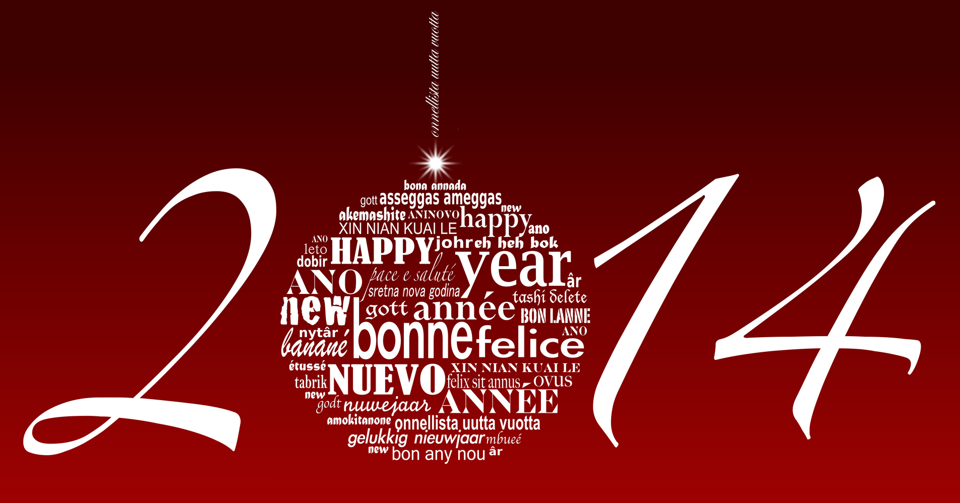 Joyeux Noël et heureuse année 2014