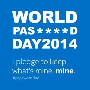 La Journée mondiale du mot de passe !