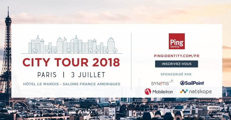Ping Identity – Paris City Tour 2018