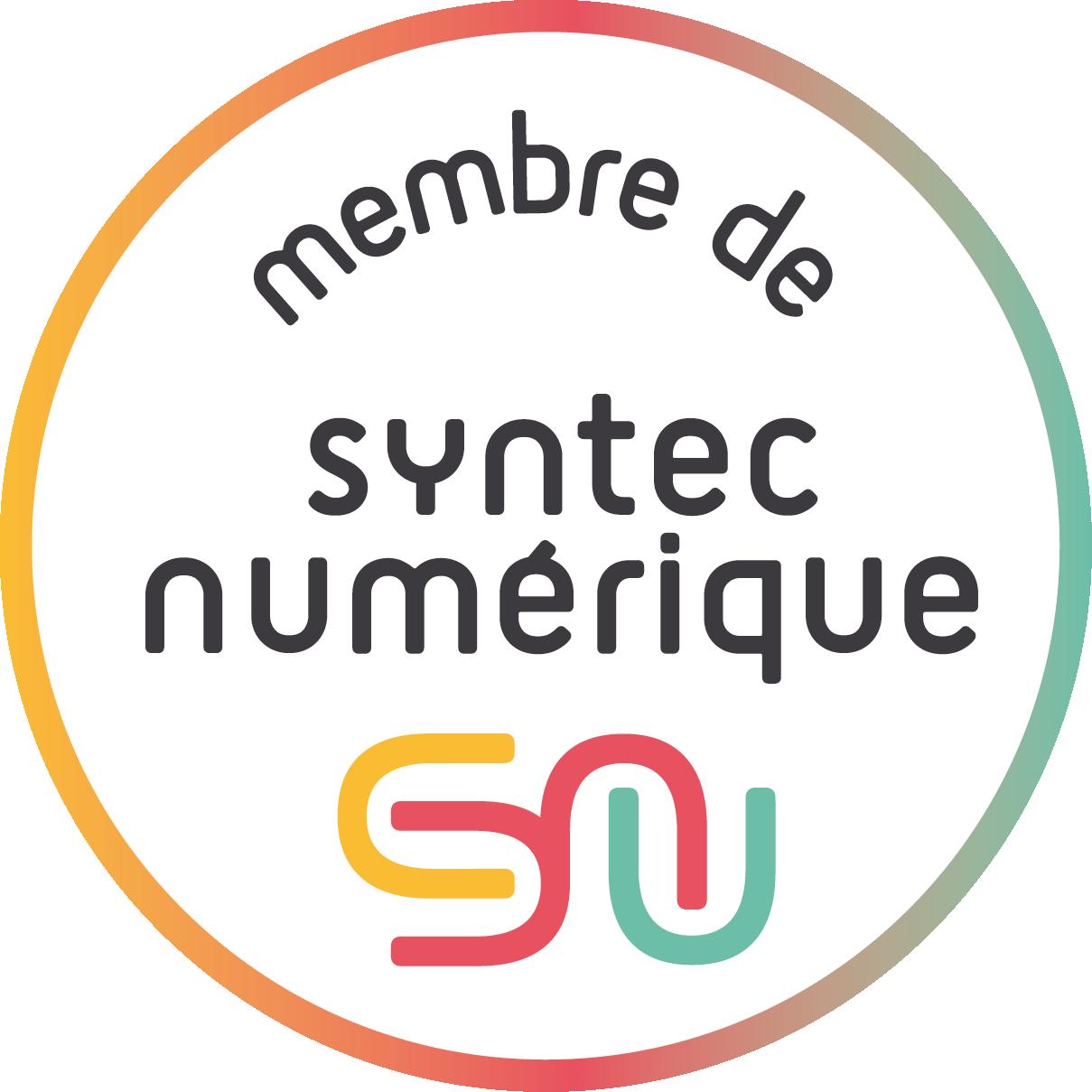 Logo membre label Syntec numérique