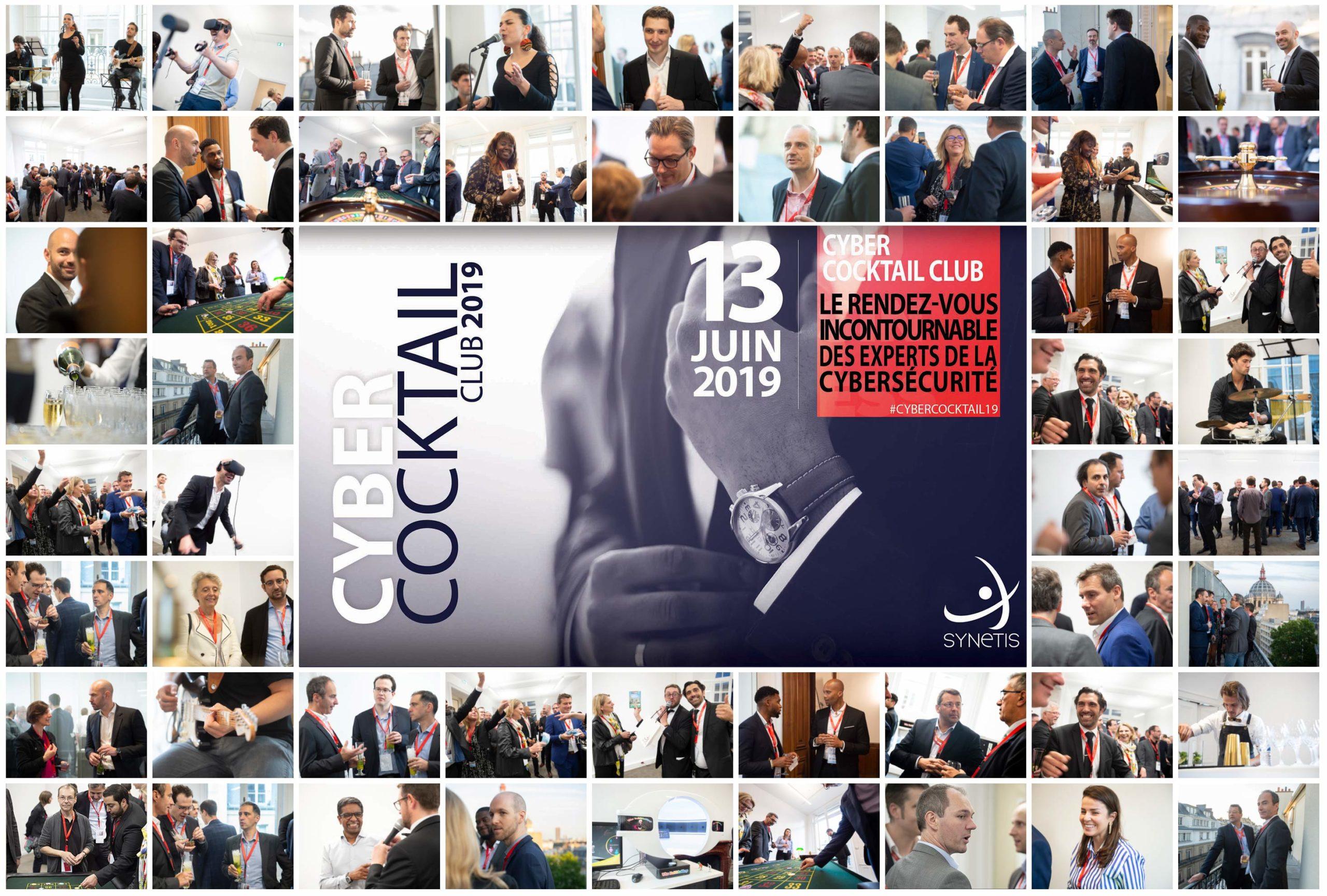 Cyber Cocktail Club 2019 : Un événement sous le signe du partage et de la convivialité.