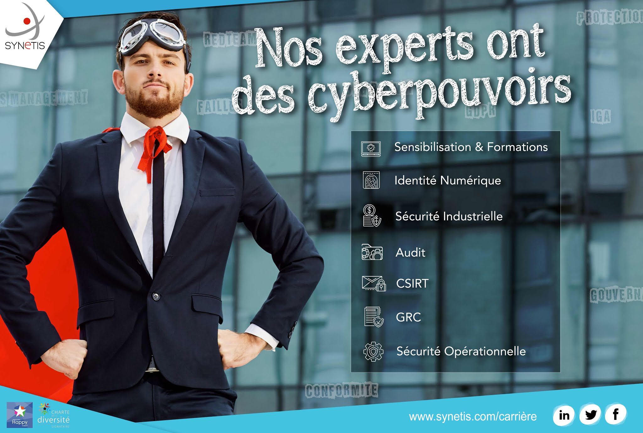 Chef de Projets – Identity Governance and Administration (H/F)