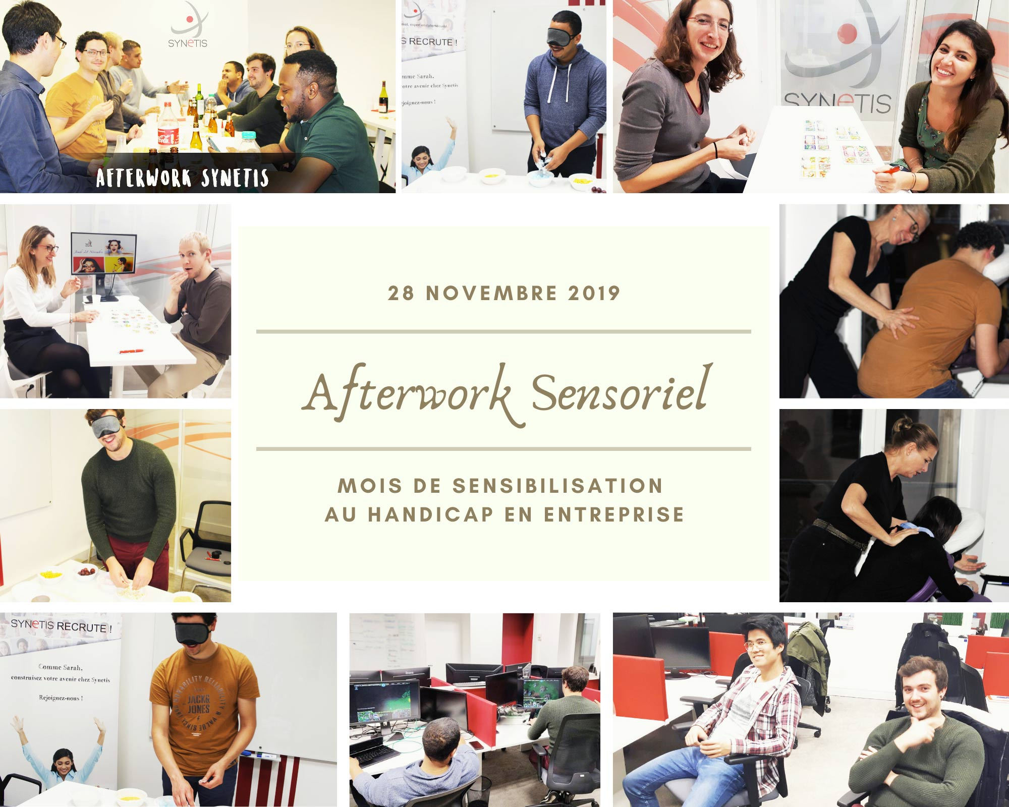Afterwork Sensoriel | Éveil des sens