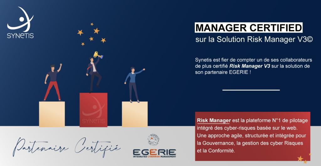 Certifié Risk Manager V3