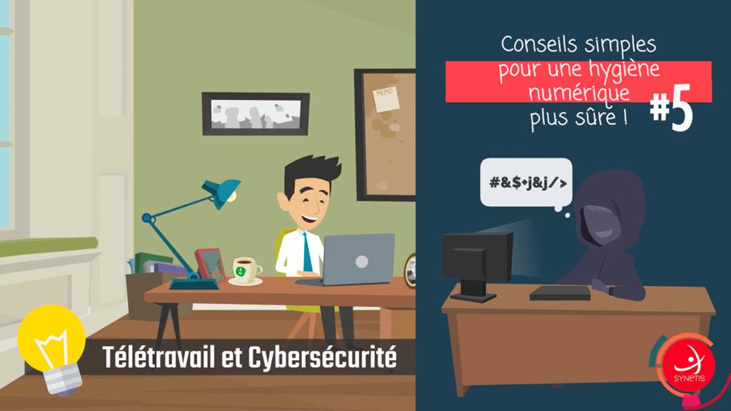 Télétravail & Cybersécurité #5